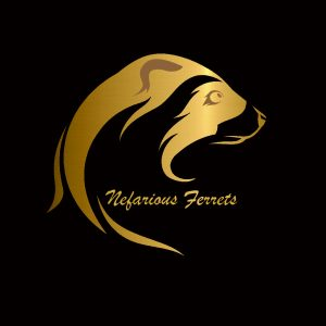 Nefarious Ferrets Gold/Black